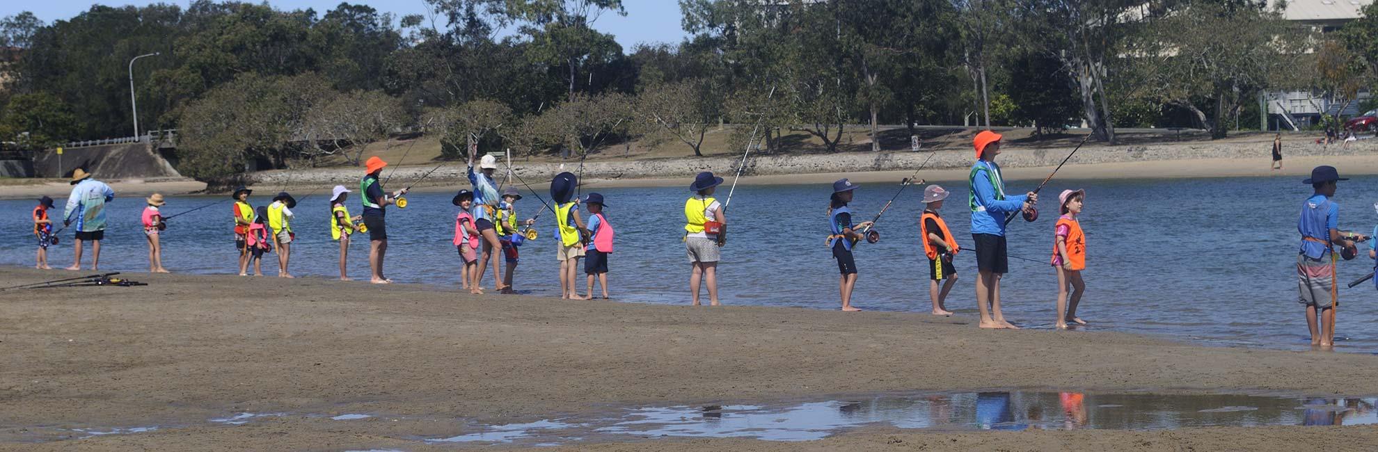 2 Bent Rods – Fishing Schools Brisbane | Learn To Fish